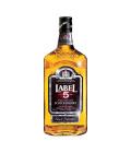 Whisky skotská 5 Label