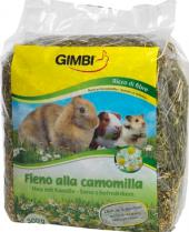 Krmivo pro hlodavce seno s heřmánkem  Gimbi