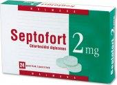 Pastilky proti bolesti v krku Septofort