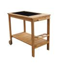 Servírovací stolek s keramickou deskou Garden Place