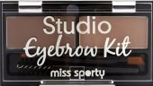 Set na úpravu obočí Eyebrow Kit Miss Sporty