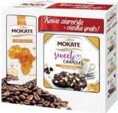 Set zrnková káva + sušenky Mokate
