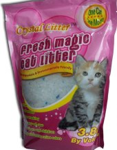 Stelivo pro kočky silikátové Crystal Cat