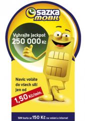 SIM karta Sazka mobil