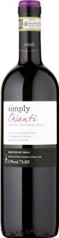 Víno Chianti Simply Tesco