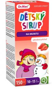 Sirup dětský na podporu imunity Dr.Max