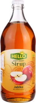 Sirup Hello - sklo