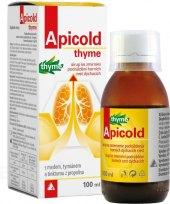 Sirup k léčbě dýchacích cest Apicold thyme