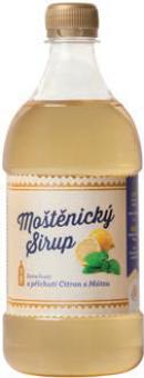Sirup Moštěnický