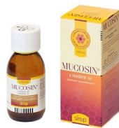Sirup na odkašlávání Mucosin