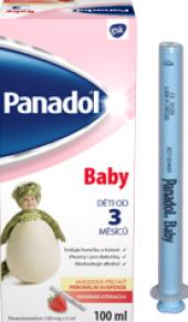 Sirup proti bolesti a horečce pro děti Panadol