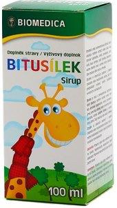 Sirup pro děti Bitusílek Biomedica