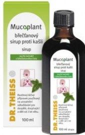 Doplněk stravy Sirup proti kašli s břečťanem Mucoplant Dr. Theiss
