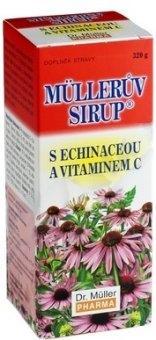 Sirup s echinaceou a vitaminem C Müllerův