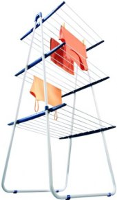 Skládací sušák na prádlo Tower Leifheit