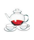 Skleněná čajová sada