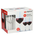 Sklenice na červené víno  Alpina