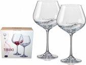 Sklenice na víno Turbolence Crystalex