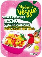 Sladko kyselý vegetariánský pokrm My best Veggie