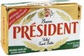 Máslo slané Président