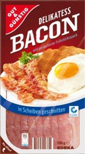 Delikatesní slanina Gut&Günstig Edeka