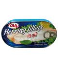 Sleď filety v oleji CBA