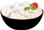 Salát sleď v jogurtu