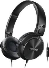 Sluchátka přes hlavu s mikrofonem Philips SHL3065BK