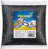 Krmivo pro ptáky slunečnice černá Ptačí mls