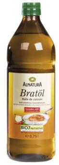 Slunečnicový olej na smažení bio Alnatura