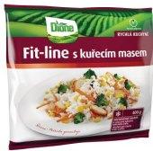 Směs fit-line s kuřecím masem mražená Dione