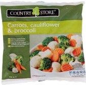 Směs s mrkeví, květákem a brokolicí mražená Country Store