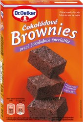 Směs na čokoládové brownies Dr. Oetker
