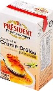 Směs na přípravu dezertu Créme Brulée Président