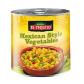 Směs sterilované zeleniny El Tequito