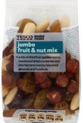 Směs sušeného ovoce a ořechů Tesco