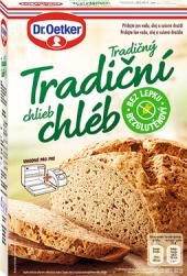 Směs Tradiční chléb bez lepku Dr. Oetker