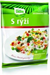 Zeleninová směs s rýží mražená Dione