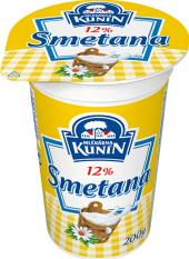 Smetana na vaření Kunín 12%