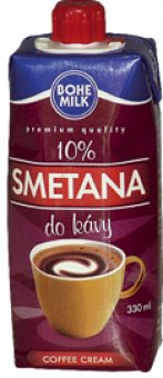 Smetana do kávy Bohemilk