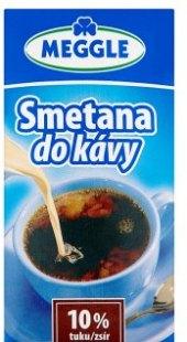 Smetana do kávy 10% Meggle