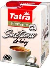 Smetana do kávy Tatra