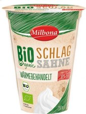Smetana ke šlehání 30% Bio Milbona
