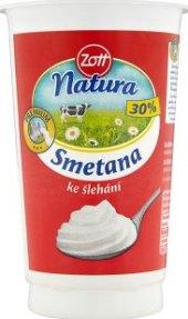 Smetana ke šlehání 30% Natura Zott