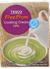 Smetana na vaření FreeFrom Tesco 10%