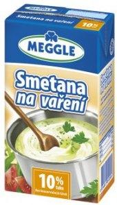 Smetana na vaření Meggle 10%