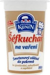 Smetana na vaření Šéfkuchař Kunín 15%