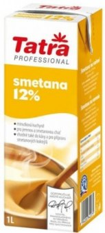 Smetana na vaření Tatra Professional 12%