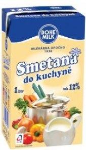 Smetana trvanlivá Bohemilk 12%