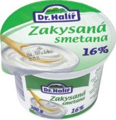 Smetana zakysaná Dr.Halíř 16%